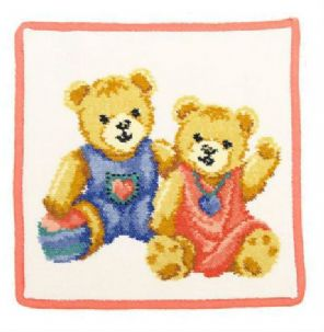 FeilerTeddy Kids washcloth - orange